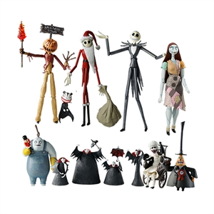 Top / Novelties Gifts / Nightmare Before Christmas Action Figures
